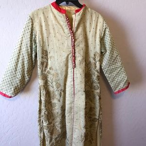 Kurti with Sharara Pant Style